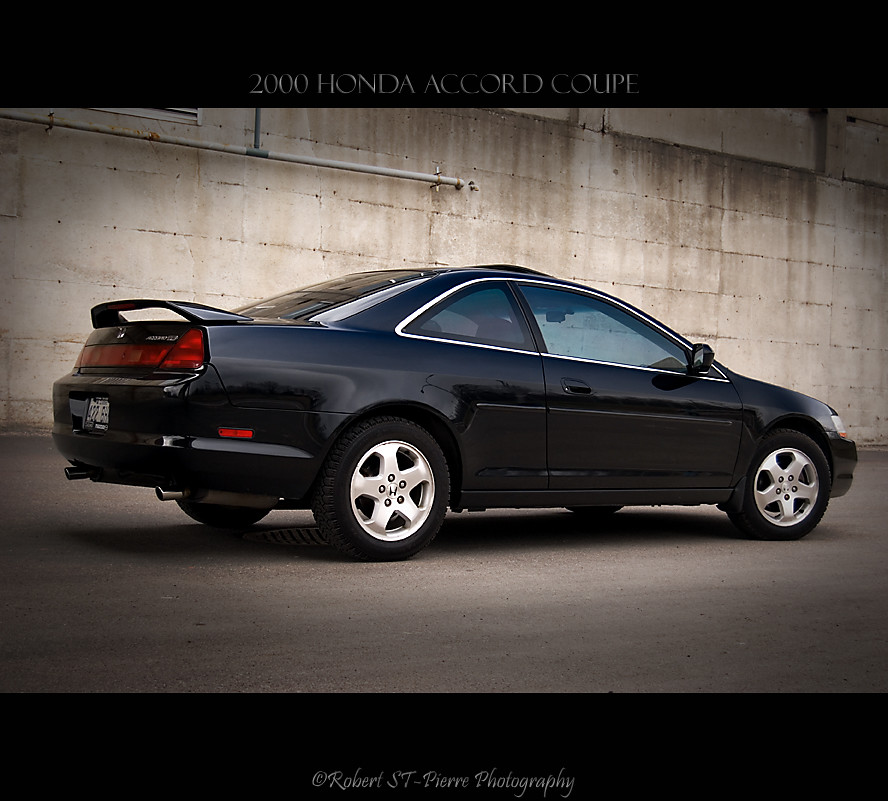 ... Honda Accord Coupe 2000 | By ROBERT ST PIERRE