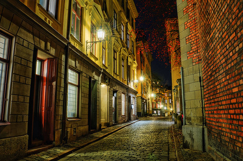 Old Town by Night IX | by henriksundholm.com