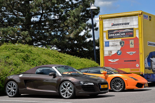 R8 & Gallardo LP 560-4 Bicolore | by Alexandre Prévot