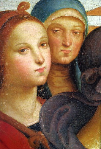 Raphael - The Marriage of the Virgin (Detailed), 1504  at Pinacoteca di Brera Milan Italy | by mbell1975