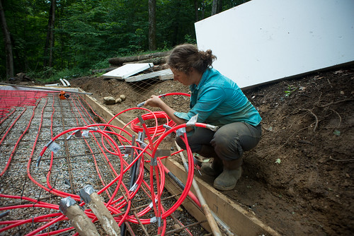 Tara Labeling Radiant Heat Loops | by goingslowly