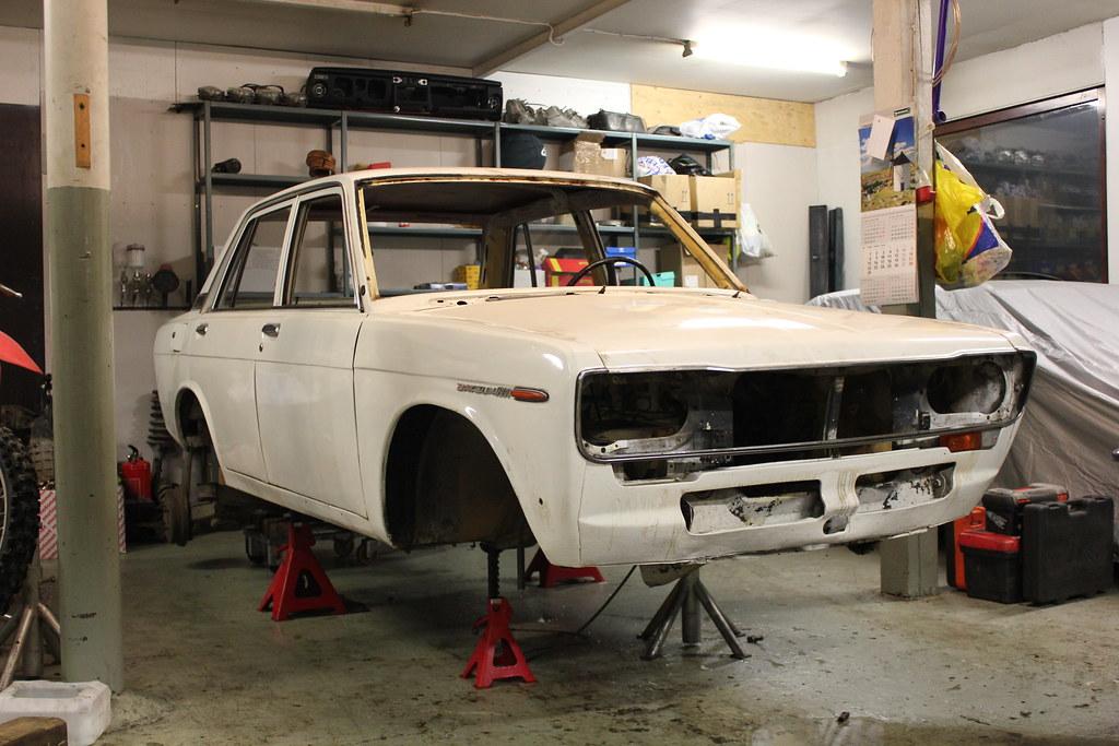 Japrnoo: Datsun 510 & EX Audi S3 31138333525_8679f90f13_b