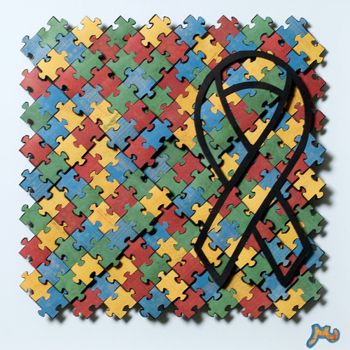 Autism Awareness Month | by uglyPLAIDinc