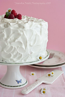 Raspberry and mascarpone cream cake | by Sweet Corner1