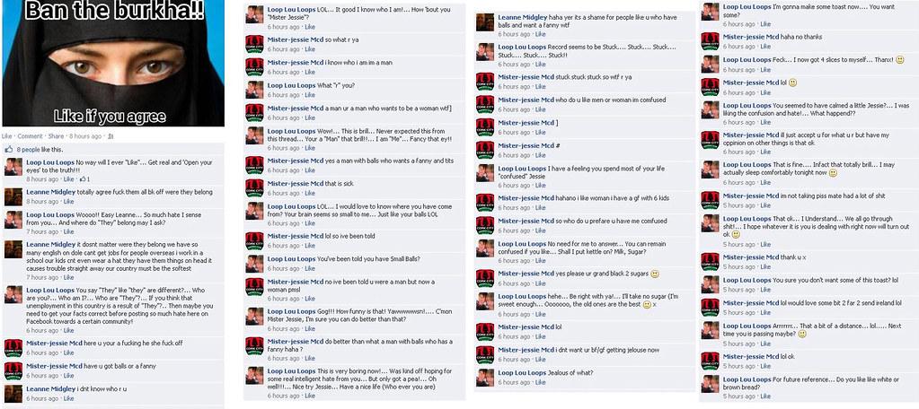 Bizarre Facebook Conversation - 25th May 2013   25th May 201