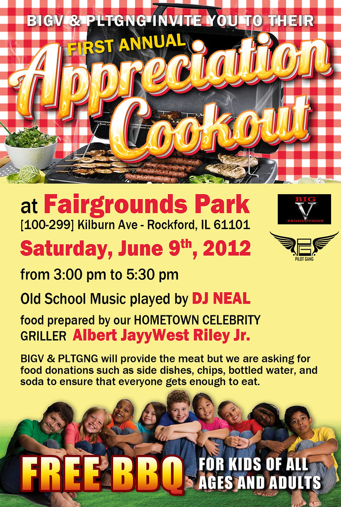 appreciation cookout flyer by lucygraphics appreciation cookout flyer by lucygraphics