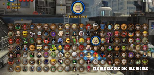 marvel lego superheroes characters