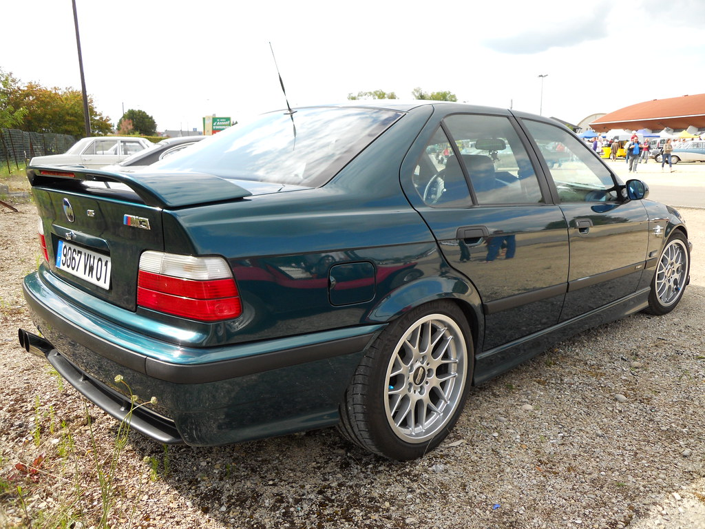 1995 BMW M3 E36 Sedan 3.2L | Upgraded to 360hp. 17 inches BB… | Flickr