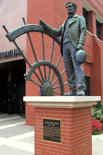 Captain Thomas Ryman Statue - Nashville, TN
