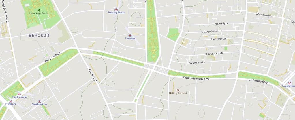 OpenStreetMap с данными о высотах