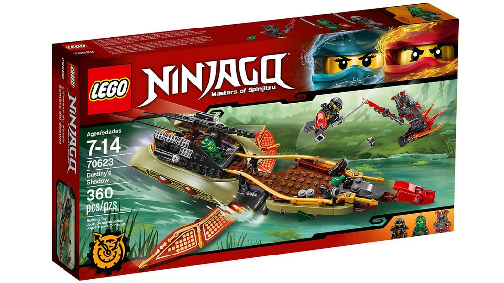 LEGO Ninjago 70623 - Destiny's Shadow