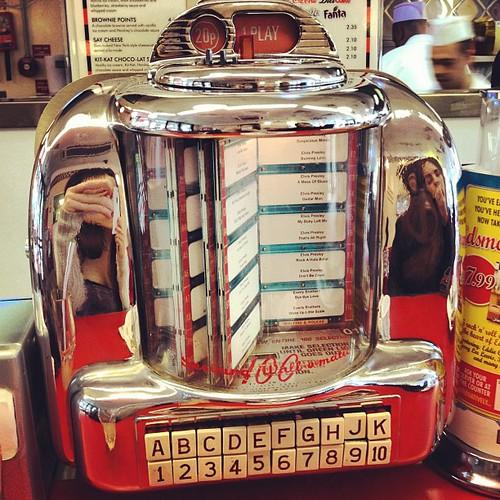 Juke box in an America...