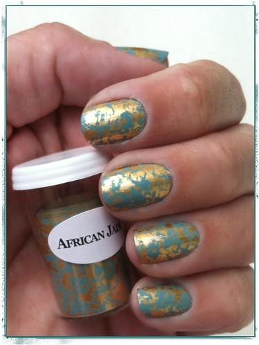 Nail Foil African Jade