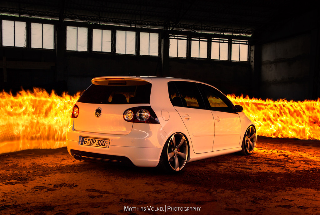 ... VW Golf V GTI Edition 30 | Fire Painting | By MatzeMV