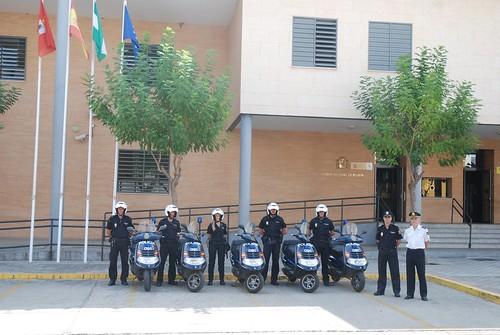 Nuevo grupo de motos de la Policía Nacional