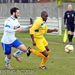 Waltham Forest FC v Barking FC - Saturday November 19th 2016