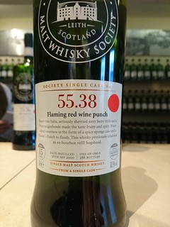 SMWS 55.38 - Flaming red wine punch