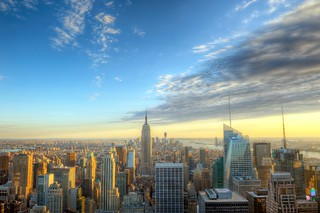 Sun setting over Manhattan from the Top of the Rock HDR | by Dave DiCello