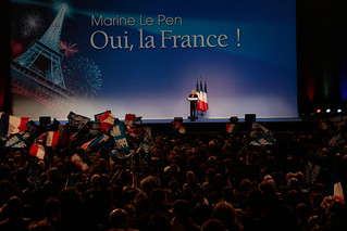 Marine Le Pen en grand meeting présidentiel au Zénith de Paris | by Marine Le Pen 2012