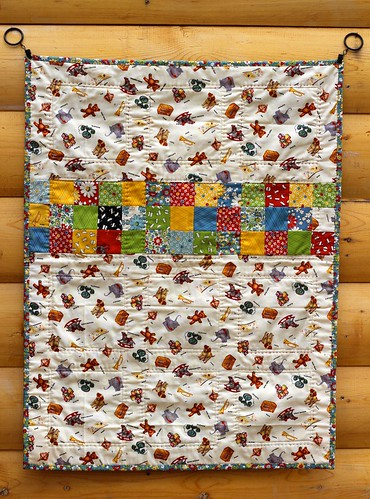 American Jane 9 Patch Baby Quilt | by CoraQuilts~Carla