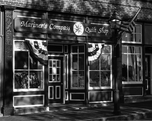 Mariner's Compass Quilt Shop, Bath ME | by jdn