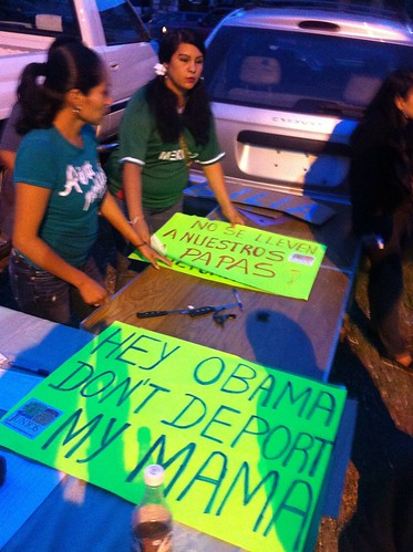 Obama don't deport my Mama | by buhrayin