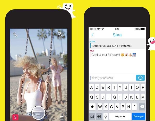 Capture d 39 ecran d 39 un snapchat sans notification for Capture d42cran