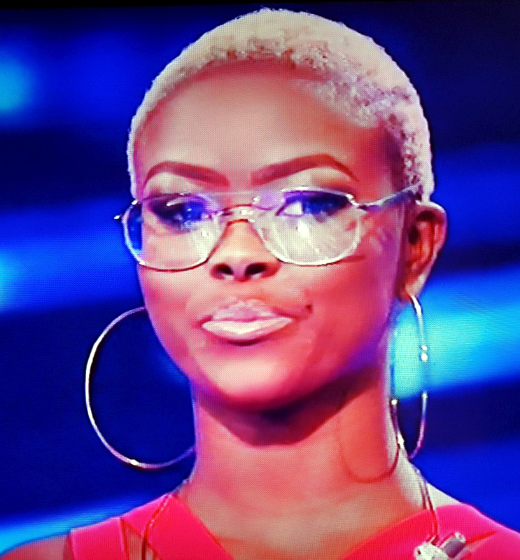 Gifty Louise Wearing Glasses From The X Factor Live Shows Flickr