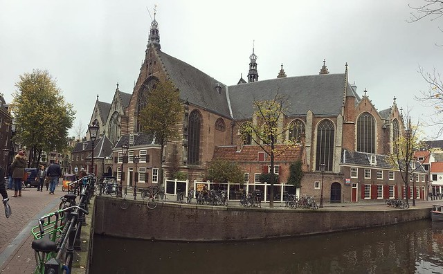 Oude Kerk. 800 year old church.