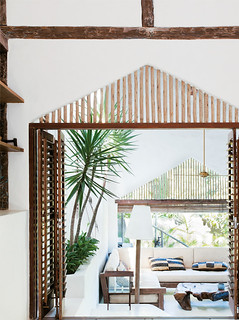 a rustic beach house in bahia, brazil | by the style files