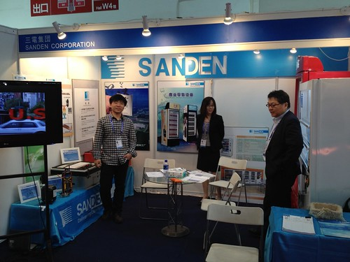 SANDEN booth- UNEP _Ozone2Climate Technology Road Show_, the 2012 China Refrigeration Exhibition(null) | by hydrocarbons21