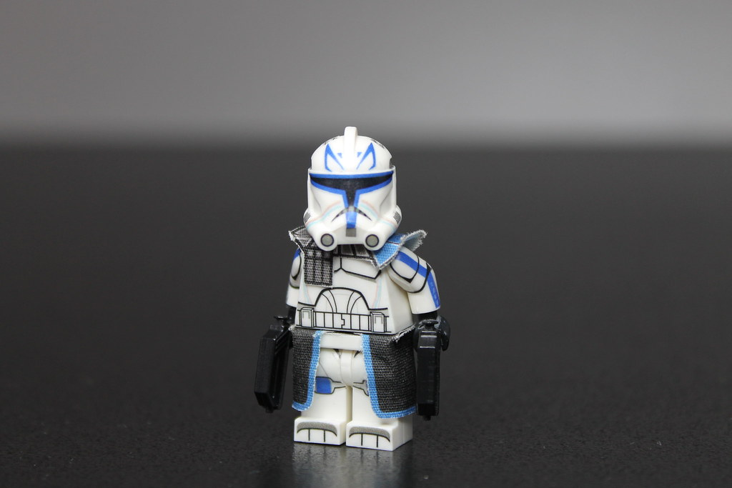 LEGO Star Wars The Clone Wars : Captain Rex | Custom LEGO st… | Flickr