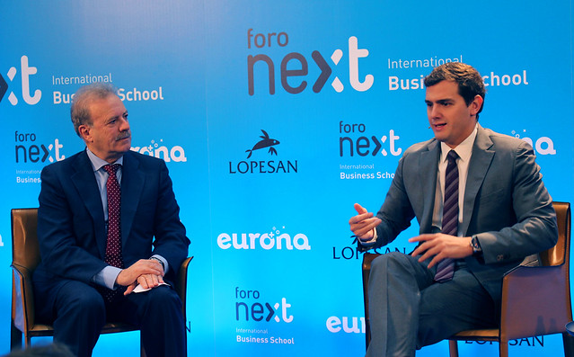 Foro Next IBS con Albert Rivera