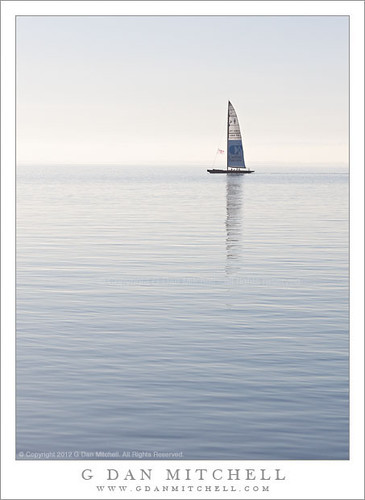 Sail Boat, San Francisco Bay | by G Dan Mitchell