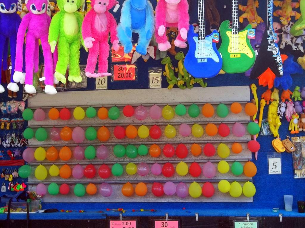 Balloon Darts Carnival Game Mark Flickr