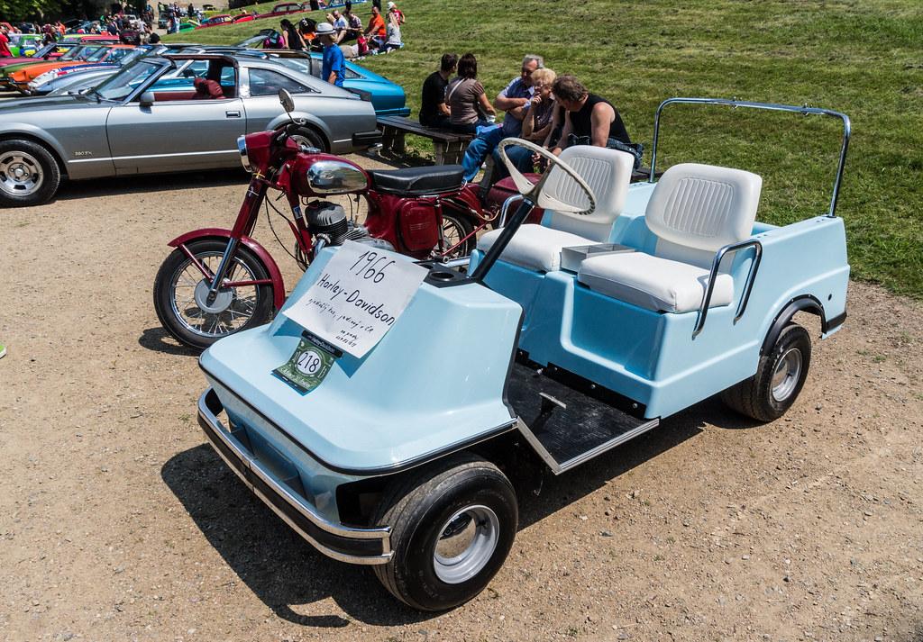 1966 Harley Davidson Golf Cart -|- nemetas.aufgegabelt.info