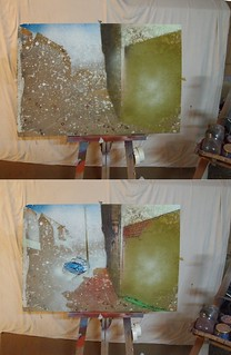 Dixon studio painting for above ground studios gallery for Above ground salon