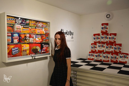 Lucy Sparrow - Shoplifting