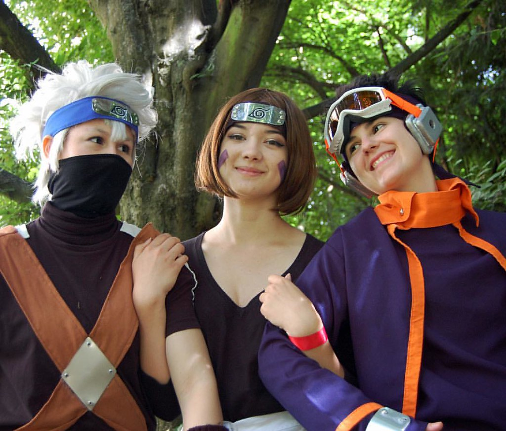 Happy Team 7 3 Kakashi Cosplay Costume Cosplayer Fun Flickr