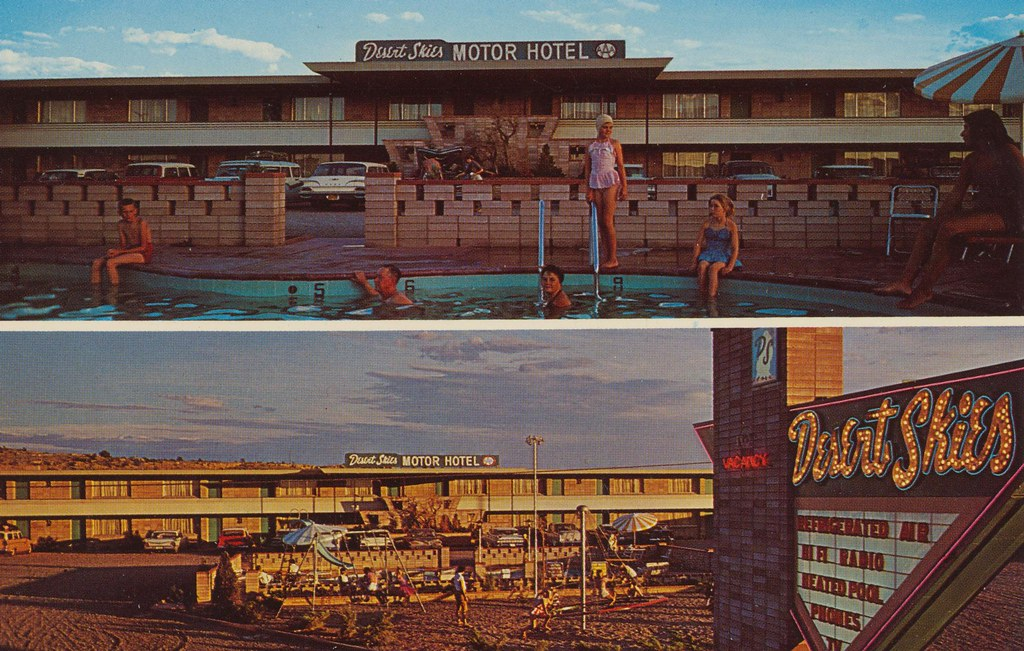 Desert Skies Motor Hotel - Gallup, New Mexico