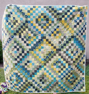 Finished Chicopee Scrappy Trip Quilt | by Pitter Putter Stitch