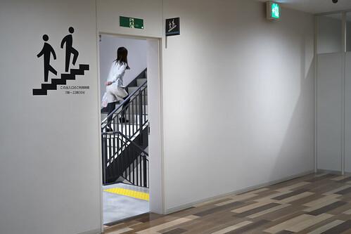 emergency stairs / JAPAN / Sony α7R II × FE 50mm F2.8 MACRO