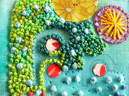 Week 16 Tast: French Knots | by Smallest Forest