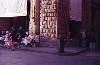 City life at a Public Caffe' !!!! | by fondazza1943