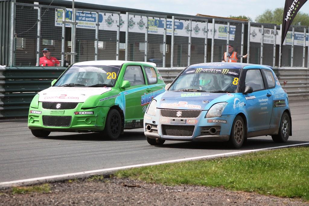 Swift Rallycross - Round 4 | Aidan Hills & Phil Sherwood - M… | Flickr