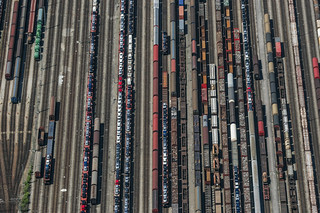 Railroad Yard | by Aerial Photography
