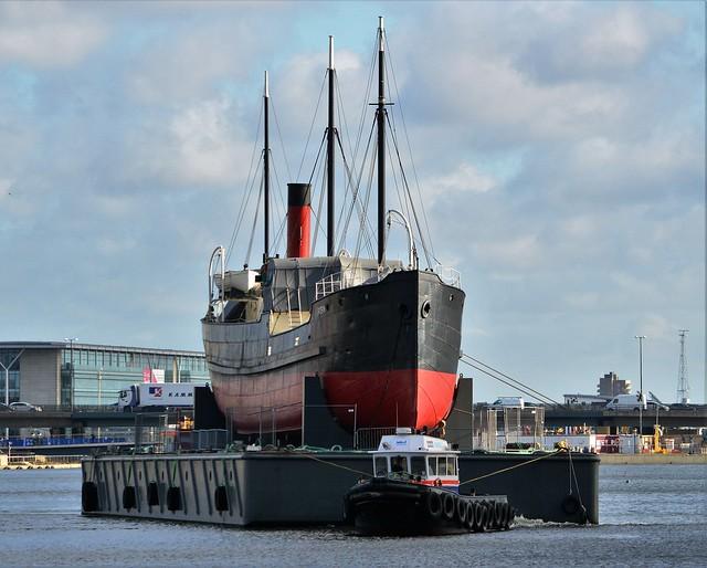 Maddog + SS Robin (9) @ Royal Victoria Dock 07-11-16