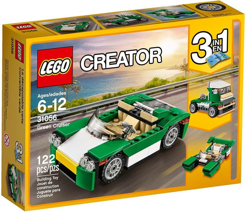 LEGO Creator 2017 - Green Cruiser (31056)