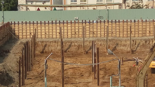 大潤發停車場大魯閣的地基土壤05