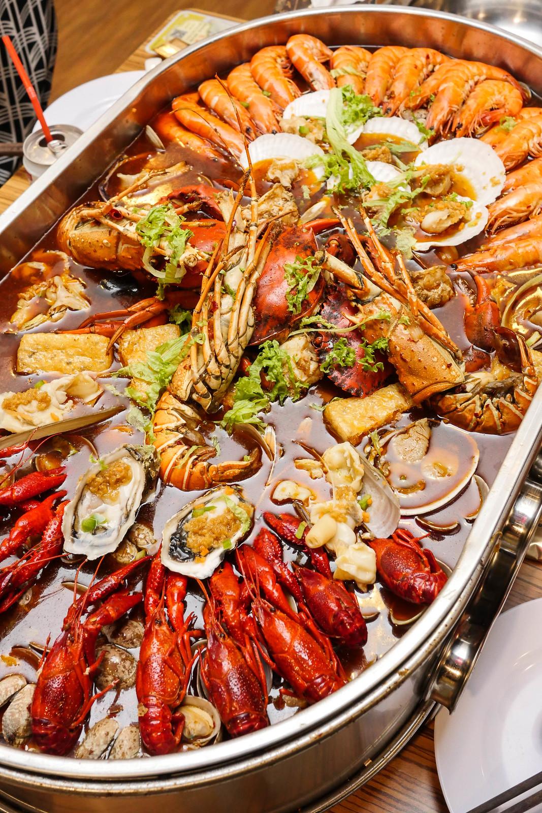 明汤九宫阁火锅:海鲜4-5人套餐
